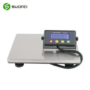 Suofei SF-887 LCD Display Stainless Steel Platform Electronic Digital Postal Shipping Weight Postal Scale