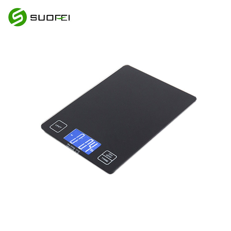 Suofei SF-660 Gray 500g 3kg Bluetooth Glass Food Diet Digital Kitchen Scale