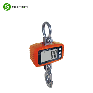 Suofei SF-923 500kg 1000kg Ocs Crane Scale Hanging Weighing Digital Scale Aluminum Digital Crane Scale