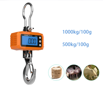 Excellent industrial crane hanging scale for weighing!